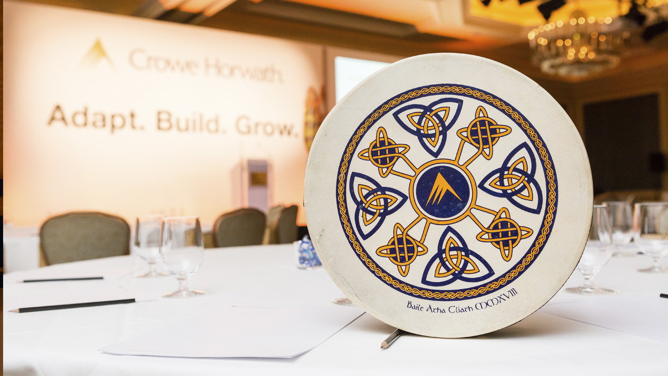 Bodhrán in EMEA's 2018 Conference Event